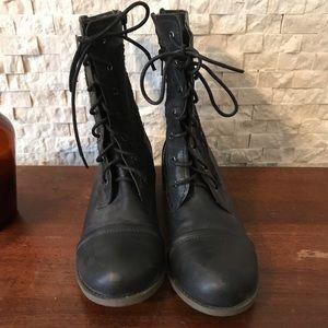 Shoes - Lace combat boots